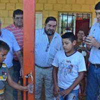 Agua potable para familias de Belén