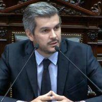 Marcos Peña negó que el Gobierno promueva la manifestación del 1° de abril en apoyo a Macri