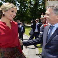 Macri recorrió Amsterdam y hoy iniciará su visita de Estado en Holanda