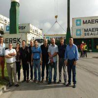 Desde el Consorcio evalúan mejoras operativas en el puerto