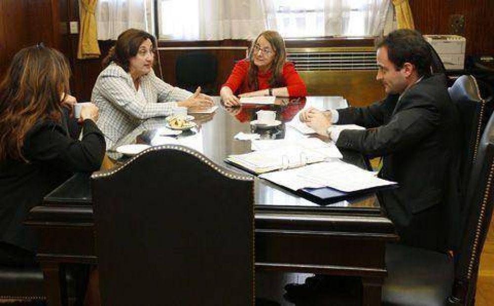 Graciela Rosso se reunió con funcionarios nacionales y provinciales