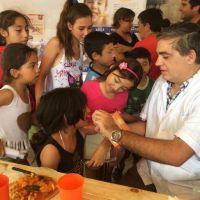 El massismo realizó una jornada de higiene bucal en cuatro barrios