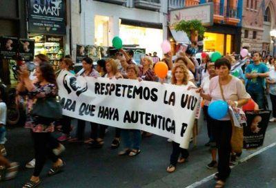 Miles de tucumanos marcharon y dieron un sí rotundo a la vida