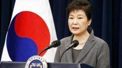 Piden la detención de la ex presidenta surcoreana por el caso