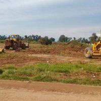 El municipio realizó limpieza en los barrios Central Argentino Viejo y Ampliación