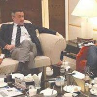 Casas se reunió con el Cónsul argentino en Hong Kong