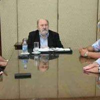 Verna se reunió con intendentes del oeste provincial
