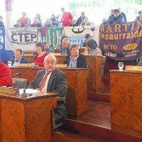 El Concejo renueva el pedido de la Jefatura Departamental