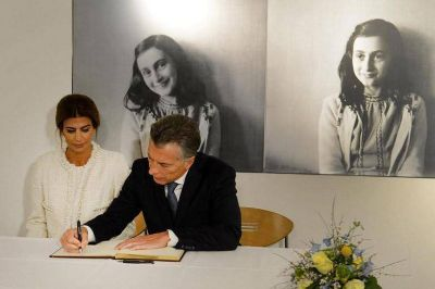 Ana Frank y la memoria selectiva de Mauricio Macri