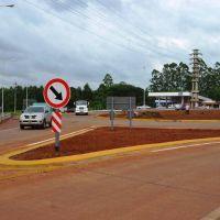 Passalacqua y el presidente de Vialidad nacional inaugurarán hoy la ruta provincial 221 y la rotonda de Eldorado