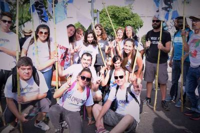 El FpV de Azul participó de la Marcha Nacional por la Memoria