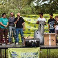 """El senador Juan Curuchet participó de la maratón """"Chascomús sin drogas"""""""
