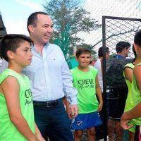"""Fiorini: """"El deporte es una herramienta única de integración y contención"""""""