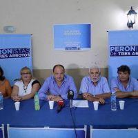Lanzaron la agrupación Peronistas de Tres Arroyos