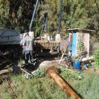 Realizan controles al agua potable en Colonia Molina