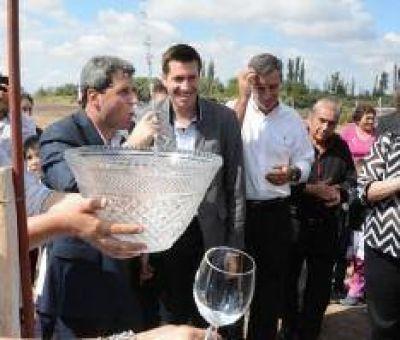 Ampliaron la red de agua potable en Cochagual