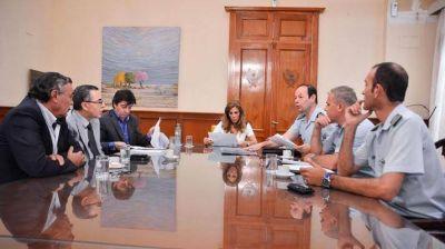 La Gobernadora se reunió con miembros de la Dirección de Sensores Radar de la Fuerza Aérea
