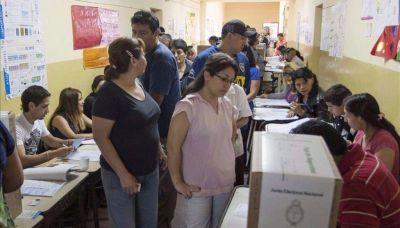 Los electores en Salta llegarán a un millón