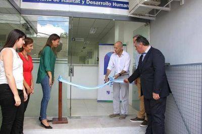 Ducoté inauguró un nuevo edificio para Niñez y Género en Pilar