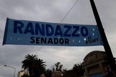 """""""Randazzo senador"""": sin definiciones, aparecen más pasacalles"""