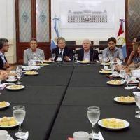 Lifschitz se reunió con intendentes de la provincia