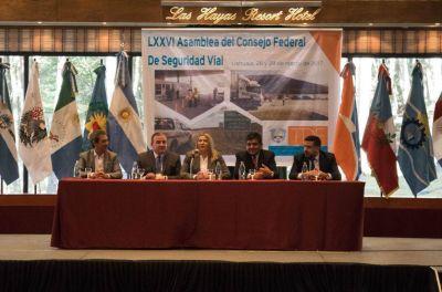 Bertone anunció la puesta en marcha de un Observatorio de Seguridad Vial provincial