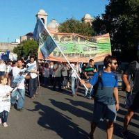 Con marchas y asambleas, Agmer se manifestó en toda la provincia y ratificó su adhesión al paro del jueves