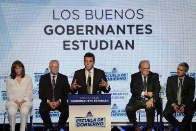 Sergio Massa presentó la Escuela de Gobierno del FR en la ciudad