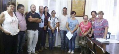 Los gremios docentes solicitaron apoyo de los concejales