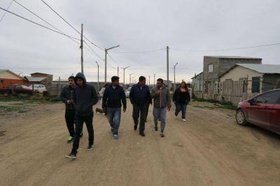 Gobierno encarará obras por 80 millones de pesos para el barrio Arraigo Sur
