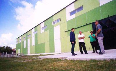 De Jesús anunció la pronta apertura del Polideportivo de San Bernardo