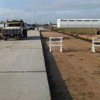 El Emvial finalizará en noviembre las obras en el Parque Industrial