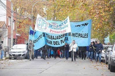 """Paritaria municipal: """"Queremos que el trabajador cobre un sueldo digno"""""""