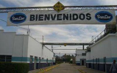 Trabajadores presentaron amparo para evitar el cierre de planta de Sancor en Charlone