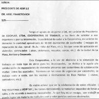 Desaparecieron 380 millones de pesos de durmientes del viejo ramal Buenos Aires-Mar del Plata