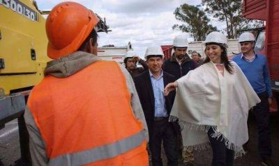 Vidal le adjudica una obra millonaria a un empresario denunciado por Carrió