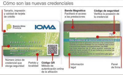 Arranca la entrega de las nuevas credenciales para afiliados de IOMA