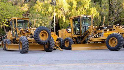 La provincia licitó por 32 millones la compra de siete motoniveladoras