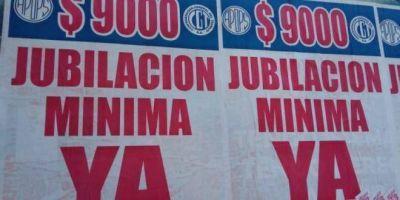 """La CGT y APOPS reclaman que la jubilación mínima llegue a los """"9 mil y pico"""" que dijo Macri"""