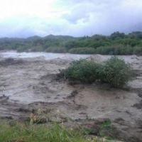 El desborde del río afectó a productores agrícolas y ganaderos