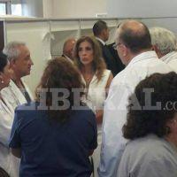 La gobernadora visitó el Centro Integral de Salud Banda