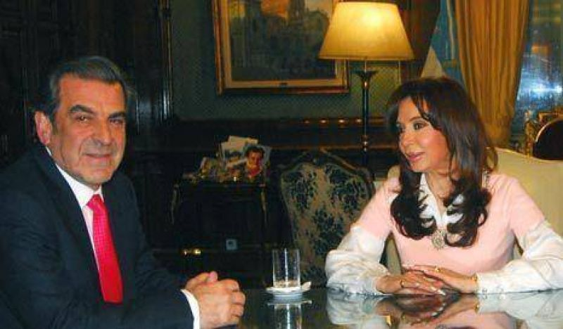 Cristina recibi� al chileno Eduardo Frei