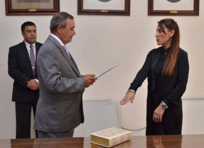 Sandra Romero Guzmán asumió como secretaria electoral provincial
