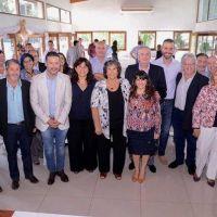 Ortíz abrió un encuentro con secretarios de Salud en Merlo