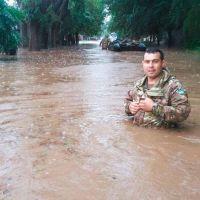 El temporal no para en Santa Rosa: 236,3 milímetros