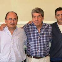 José L. Salomón y funcionarios despidieron a Nelson Lujan