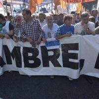 Las CTA marchan a la Plaza de Mayo
