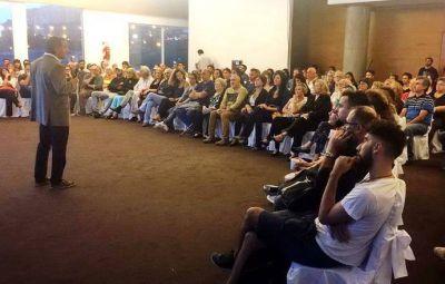Leandro Laserna presentó el proyecto de creación del Fondo Municipal de las Artes