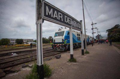 """""""Está todo dado para que el 15 de abril vuelva el tren a Mar del Plata"""""""