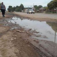 Un asco: en Rincón al 3.700 hay un río de líquidos cloacales